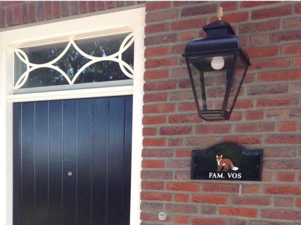 Lamp voor bij de voordeur