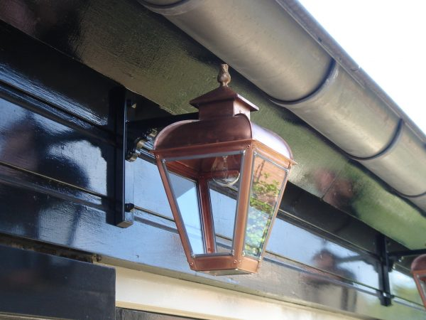 Kleine hanglamp koper