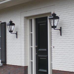 Buitenlampen voor bij de voordeur