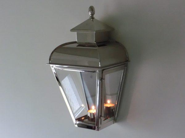 wandlamp voor binnen chroom of nikkel