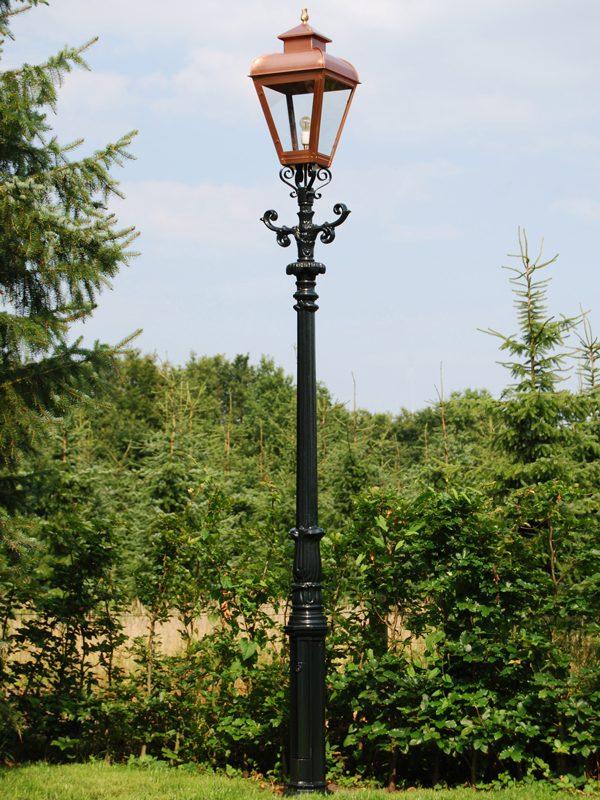 Nostalgische lantaarnpaal