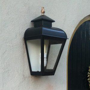 Een duurzame wandlamp voor buiten