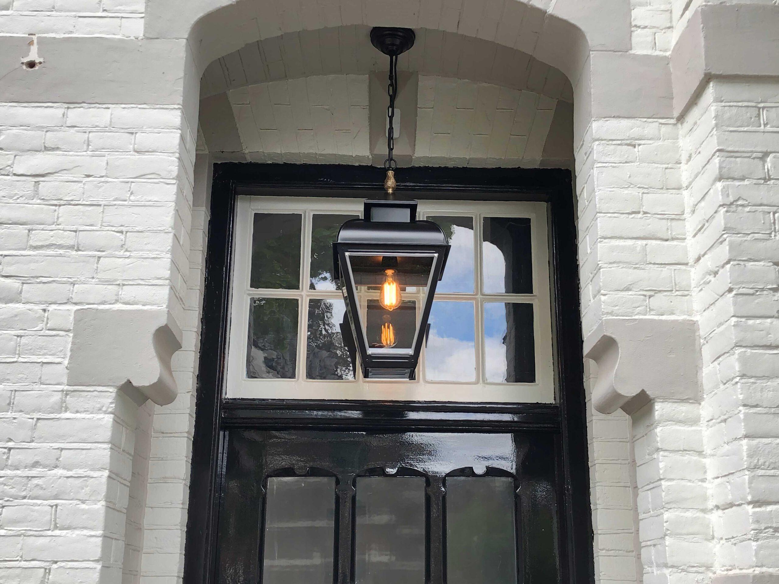Pendellamp voor bij de voordeur