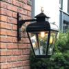 RVS hanglamp zwart gepoedercoat