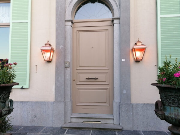 wandlamp mooi voor bij de ingang