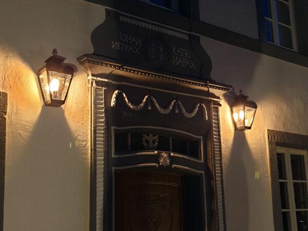 lamp voor monumentaal pand wandmodel