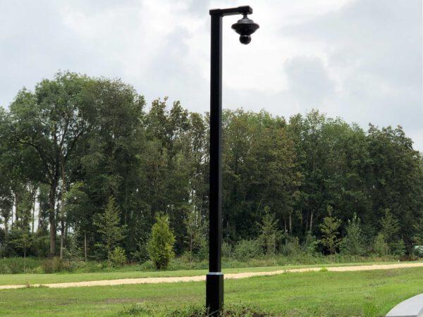 mast voor beveiligingscamera
